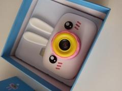 Детский фотоаппарат заяц белый