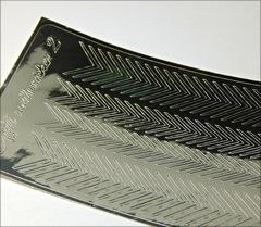 Металлизированные наклейки Arti nails Stiker цвет серебро №2