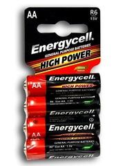 Батарейки Energycell Heavy Duty R6, АА, 4шт мини 60/1200