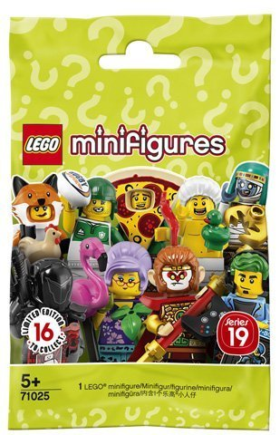 LEGO Minifigures: Серия 19, 71025 — Minifigure, Series 19 (1 Random Complete Minifigure Set) — Лего Минифигурки