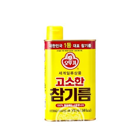 Масло OTTOGI кунжутное нерафинированное 500мл Ottogi Корея