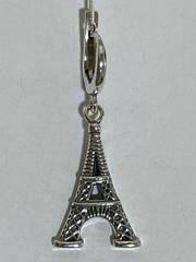 Эйфелева башня (серьга из серебра)
