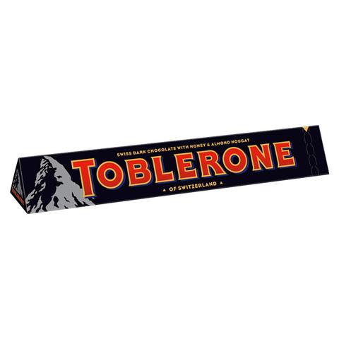 Шоколад горький Toblerone Dark с медово-миндальной нугой 100 гр