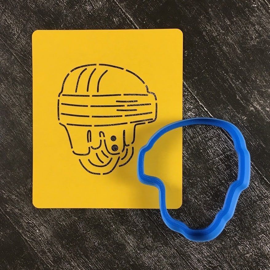 Шлем №1 вратарский