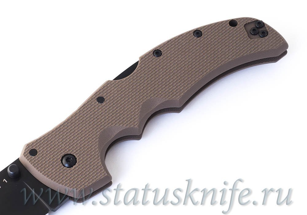 Нож Cold Steel Recon 1 Clip point 27TLCVF Dark Earth - фотография