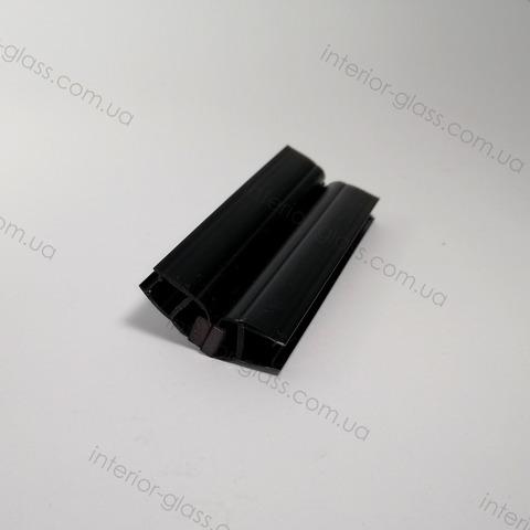 Магнитный уплотнитель 135 град. HDL-208 BLK черный