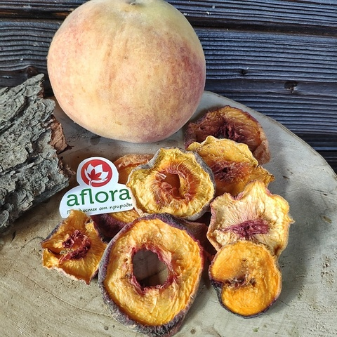 Фотография Чипсы фруктовые Персик, 250 г купить в магазине Афлора
