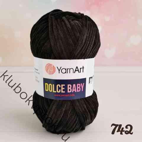 YARNART DOLCE BABY 742, Черный