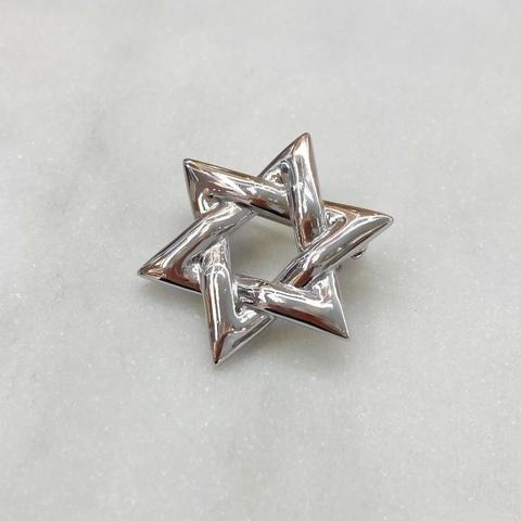Брошь Звезда Давида