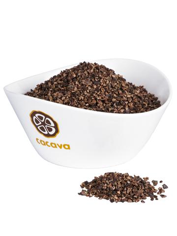 Какао-бобы дробленые, очищенные (Кот-Д'Ивуар), внешний вид
