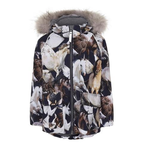 Куртка Molo Cathy Fur Unicorn and Pegasus