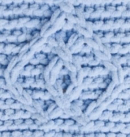 Пряжа Puffy Fine Alize 218 детский голубой, картинка