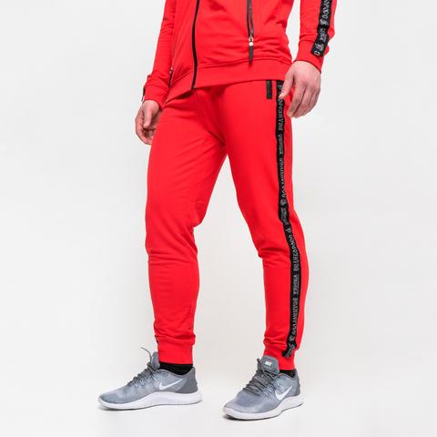 Спортивные штаны «Великоросс» красного цвета