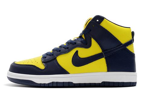 Nike Dunk High Retro 'Michigan'