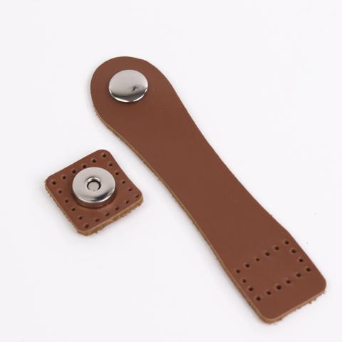 """Застежка для сумки """"Молочный шоколад"""" с магнитной кнопкой"""