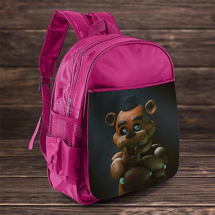 Рюкзак с Фредди (розовый)