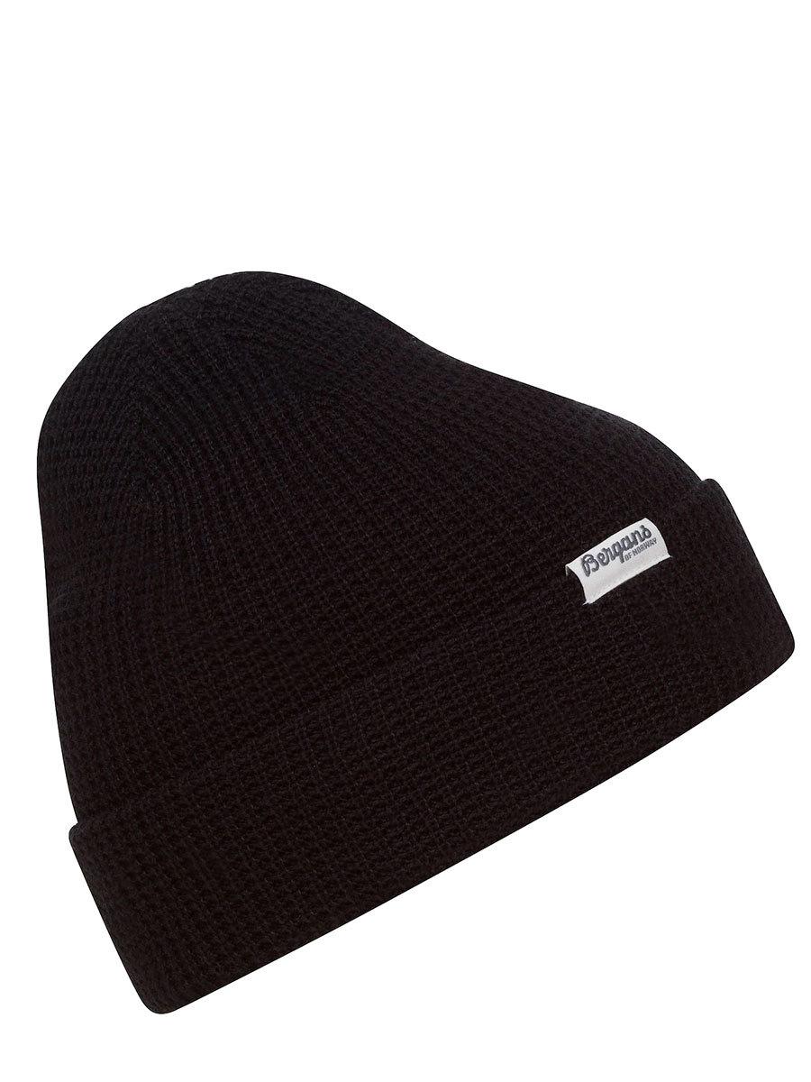 Bergans шапка 7731 Waffle Knit Beanie Black
