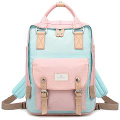 Рюкзак Doughnut Macaroon Розовый + Голубой