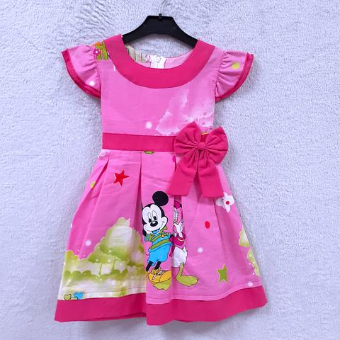 Платье хлопок девочке (2-6) 210302-OF7580