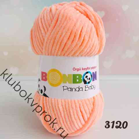 BONBON PANDA BABY 3120, Персик