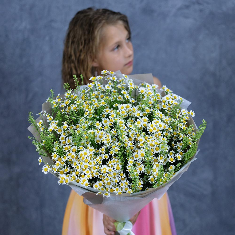 Доставка цветов Пермь купить красивый букет ромашек онлайн заказ круглосуточно