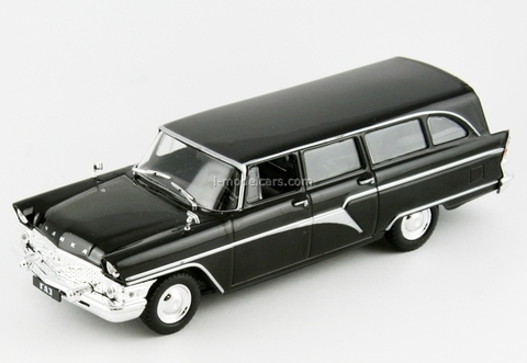 GAZ-13S Chaika ambulance hearse (Black Doctor) DeAgostini Auto Legends USSR #89