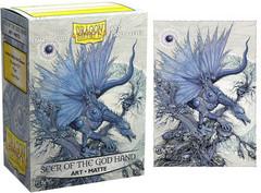 Dragon Shield - Матовые протекторы Seer of the God Hand 100 штук