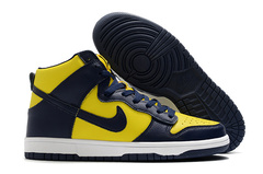 Nike Dunk High Retro 'Michigan'