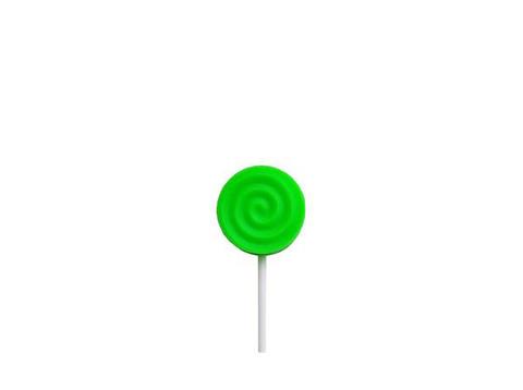 Силиконовая конфета (зелёная)