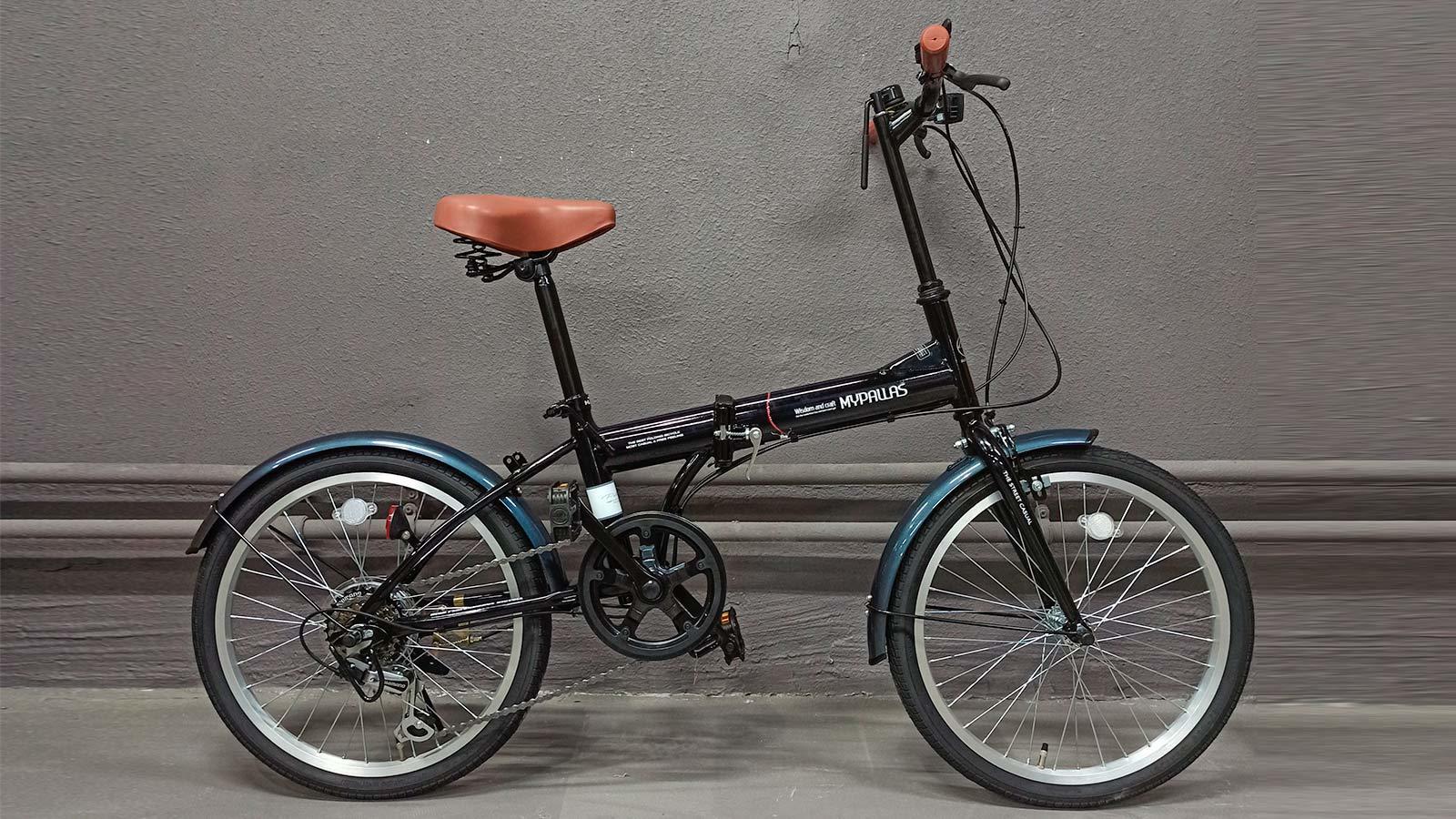 складной велосипед MyPallas M200 черный