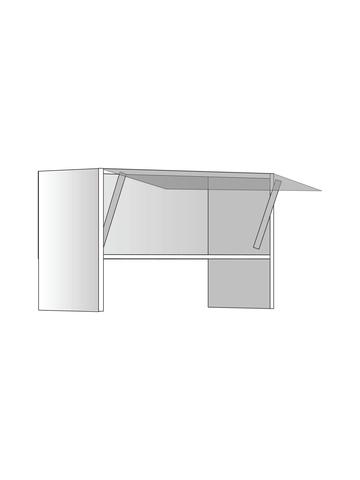 Верхний шкаф для вытяжки, 400х600 мм