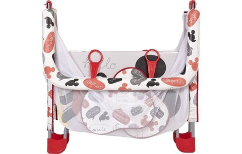 Манеж Polini kids Disney baby Comfort, Микки маус, серый