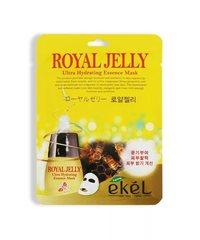 Ekel - Маска-салфетка с экстрактом маточного молочка пчел, 23мл