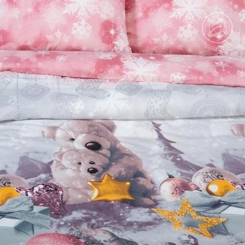 Детское постельное бельё Ласковый мишка ПОПЛИН