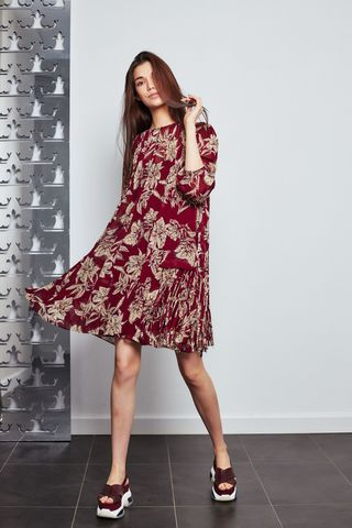 Dorothee Schumacher Платье с бахромой