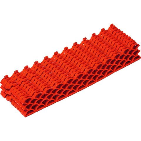 Модульное покрытие, 0,19 м2, 10мм, красный