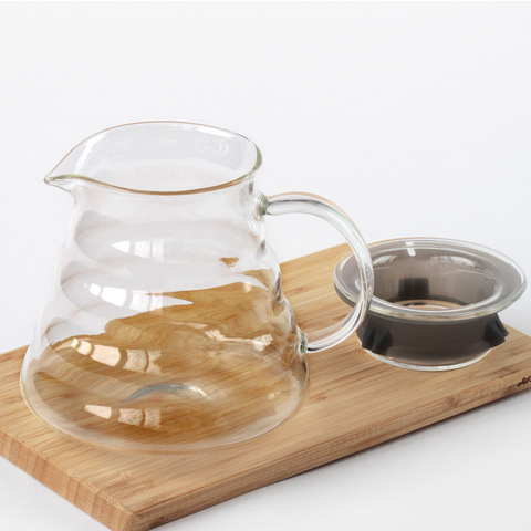 Стеклянный сервер для кофе и чая