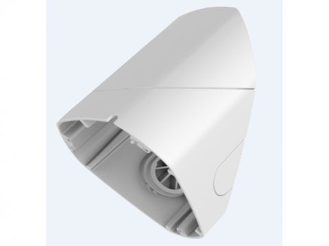 Настенный наклонный кронштейн Hikvision DS-1281ZJ-DM25-B