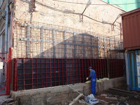 Усиление кладок стен и сводов