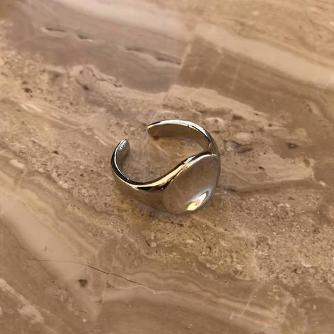 Кольцо Ренека, серебряный цвет