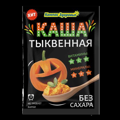 Компас здоровья Каша заварная овсяная с тыквой пак.30 г