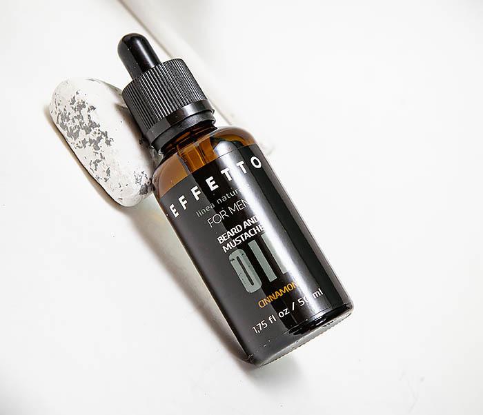 CARE139-1 Масло для для ухода за бородой и усами EFFETTO «Корица» (50 мл) фото 02