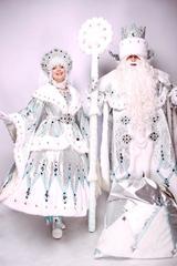 Дед Мороз и Снегурочка Серебро ВИП