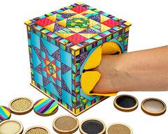 Тактильный куб Парочки, Smile Decor П617