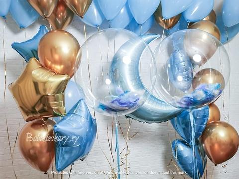 Воздушные шары в роддом Москва