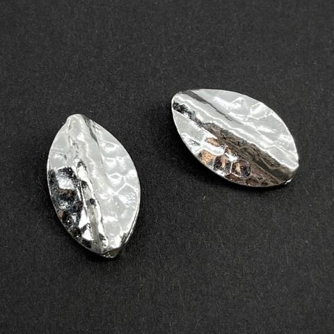Бусина Гавайи 19,5х12 мм серебро 925