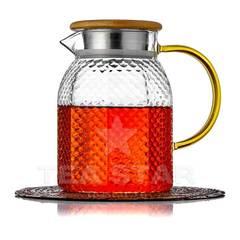 """Чайник заварочный """"Гефест"""" 1000 мл, стеклянный"""