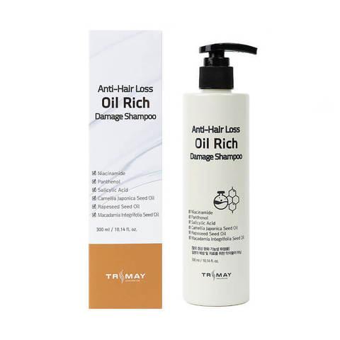 Питательный шампунь для поврежденных волос Trimay Anti-Hair Loss Oil Rich Damage Shampoo