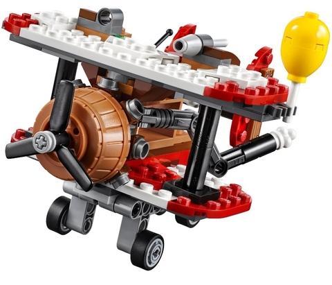 LEGO Angry Birds: Самолётная атака свинок 75822 — Piggy Plane Attack — Лего Злые птички
