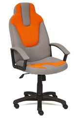 Кресло компьютерное Нео 3 (Neo 3) — серый/оранжевый (С27/С23)
